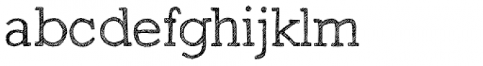 Sketch Block Light Font LOWERCASE