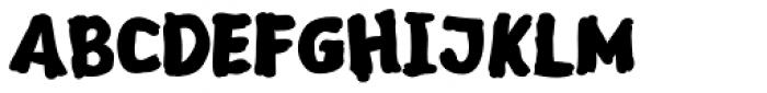 Sketch Bold Font UPPERCASE