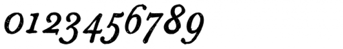Sketch Caslon Italic Font OTHER CHARS