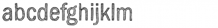 Sketch Gothic Light Font LOWERCASE