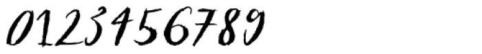 Sketch Script Font OTHER CHARS