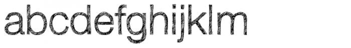 Sketchetik Light Font LOWERCASE