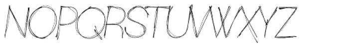 Sketchica Font UPPERCASE