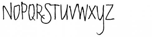 Sketchley BT Font UPPERCASE