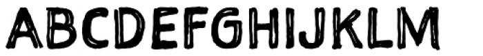 Sketchnote Square Font UPPERCASE