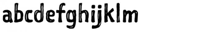 Sketchnote Square Font LOWERCASE