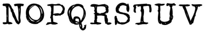 Sketchwriter Font UPPERCASE
