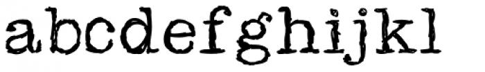 Sketchwriter Font LOWERCASE