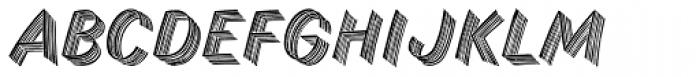 Skid Row Std Font UPPERCASE