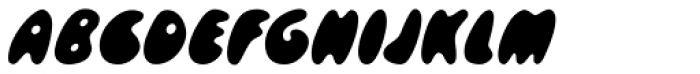 Skidoos D Font UPPERCASE