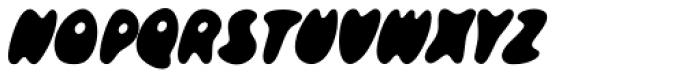 Skidoos P Font UPPERCASE