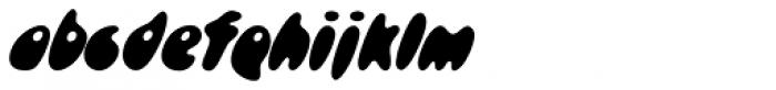 Skidoos P Font LOWERCASE