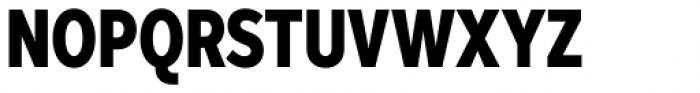 Skie Condensed Black Font UPPERCASE