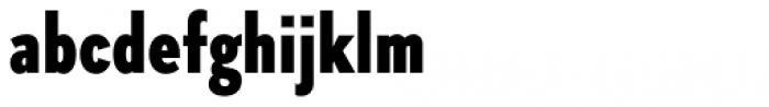 Skie Condensed Black Font LOWERCASE