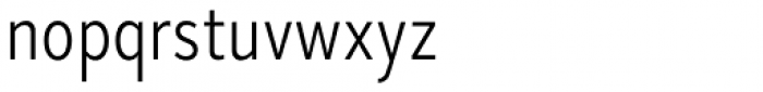 Skie Condensed Light Font LOWERCASE
