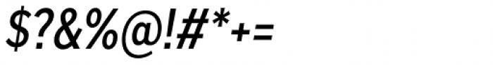 Skie Condensed Medium Italic Font OTHER CHARS