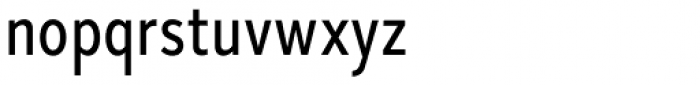 Skie Condensed Text Font LOWERCASE