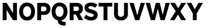 Skie Extra Bold Font UPPERCASE
