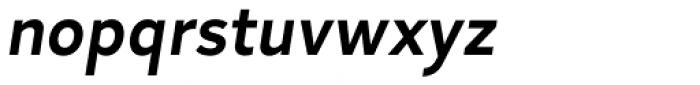 Skie Semi Bold Italic Font LOWERCASE