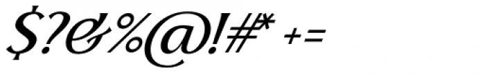 Skiff Light Italic Font OTHER CHARS