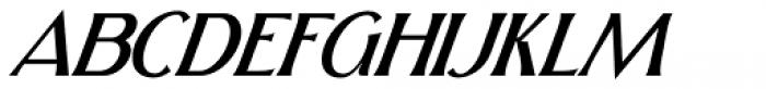 Skiff Light Italic Font UPPERCASE