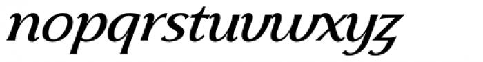 Skiff Light Italic Font LOWERCASE