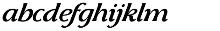 Skiff Regular Italic Font LOWERCASE