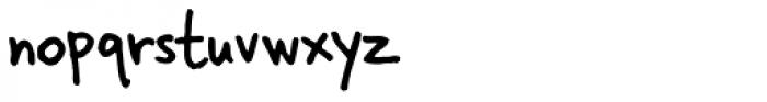 Skippy Sharp Font LOWERCASE