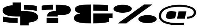 Skol ExtraBlack Font OTHER CHARS