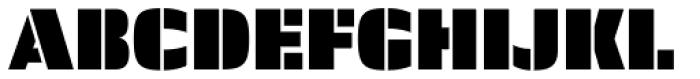 Skol Light Font UPPERCASE