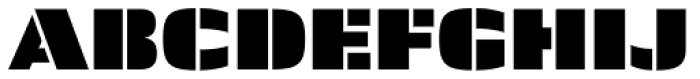 Skol Medium Font UPPERCASE