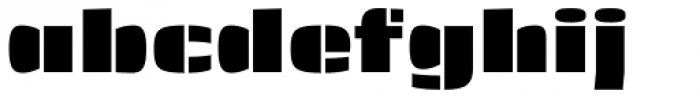 Skol Medium Font LOWERCASE