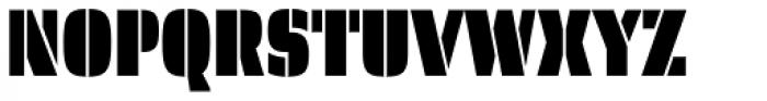Skol Thin Font UPPERCASE