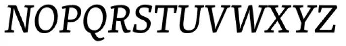 Skolar Latin Italic Font UPPERCASE