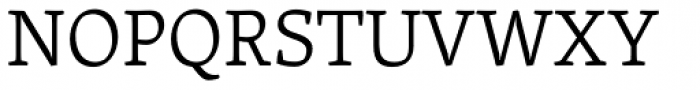 Skolar Latin Light Font UPPERCASE