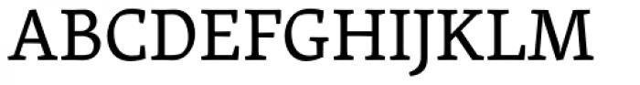 Skolar Latin Font UPPERCASE