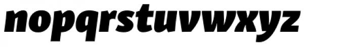 Skolar Sans Latn Black Italic Font LOWERCASE