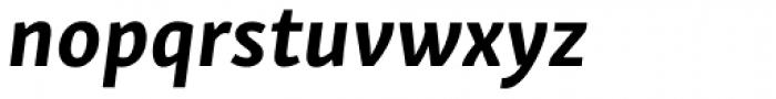 Skolar Sans Latn Bold Italic Font LOWERCASE