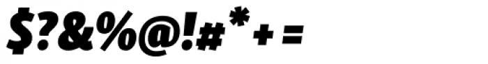 Skolar Sans Latn Compressed Bl It Font OTHER CHARS