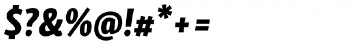 Skolar Sans Latn Compressed Eb It Font OTHER CHARS