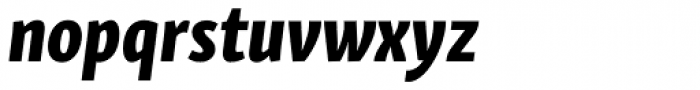 Skolar Sans Latn Compressed Eb It Font LOWERCASE