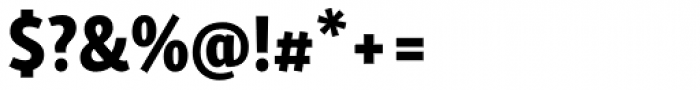 Skolar Sans Latn Compressed Eb Font OTHER CHARS