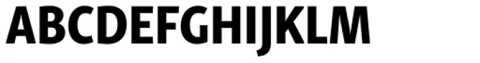 Skolar Sans Latn Compressed Eb Font UPPERCASE