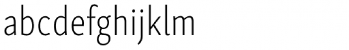 Skolar Sans Latn Compressed El Font LOWERCASE
