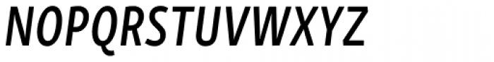 Skolar Sans Latn Compressed Sb It Font UPPERCASE