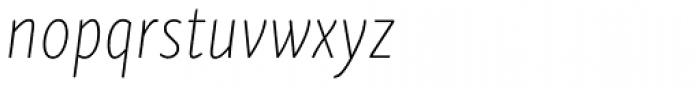 Skolar Sans Latn Compressed Th It Font LOWERCASE
