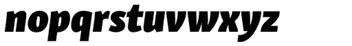 Skolar Sans Latn Condensed Bl It Font LOWERCASE
