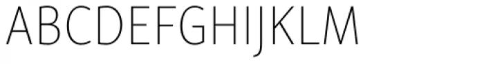 Skolar Sans Latn Condensed Th Font UPPERCASE