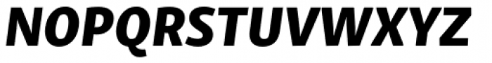 Skolar Sans Latn Extrabold Italic Font UPPERCASE