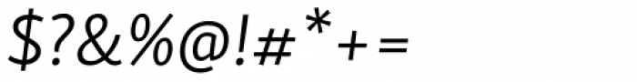 Skolar Sans Latn Light Italic Font OTHER CHARS